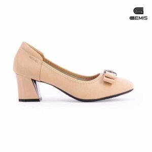 Giày Cao Gót Nơ 5cm GEMIS-GM0031