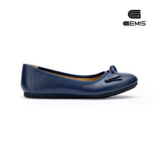 Giày Bệt Nơ Da Bò Gemis - GM00153