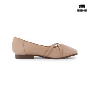 Giày Mũi Vuông Khoá Chéo - GM00105