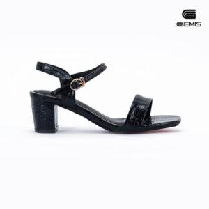 Sandal Cao Gót Xi Rắn 5CM Gemis - GM00021