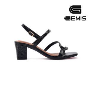 Sandal Cao Gót Vân Rắn 5CM Gemis – GM00035 (Sao chép)