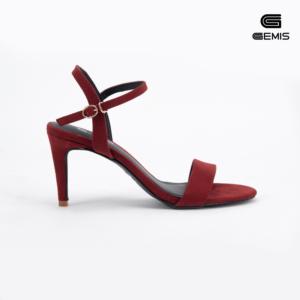 Sandal Cao Gót 7cm Da Lộn Gemis - GM00056