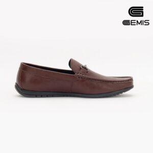 Giày Mọi Nam Da Bò Đai Khoá GEMIS - GM00061