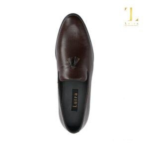 Giày mọi da bò gắn nơ Lutra- 5374 Xưởng Giày 03