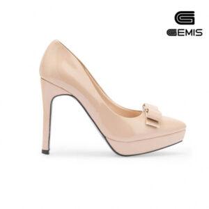 Giày cao gót da bóng 11 cm Gemis – GM00209