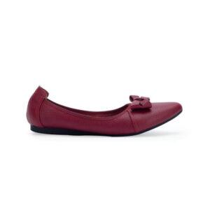 Giày Bệt Nơ Da Bò Gemis – GM00151