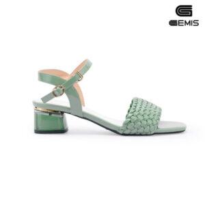 Sandal mũi vuông 5cm  GEMIS - GM00259