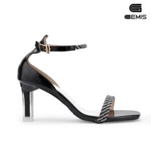 Sandal đính đá 7cm Gemis  - GM00264