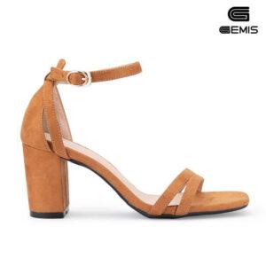 Sandal cao gót da lộn 7cm - GM00265