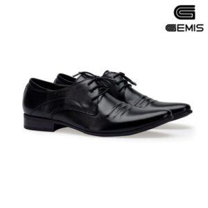 giày nam da bò buộc dây gemis