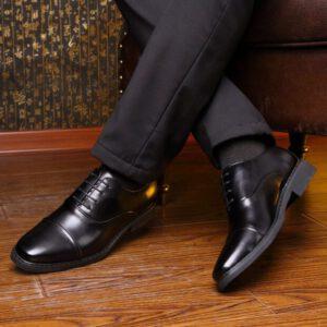 Giày da nam buộc dây - Xu hướng giày nam công sở năm 2021 Xưởng Giày 08